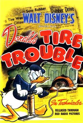 Donald's Tire Trouble (1943)