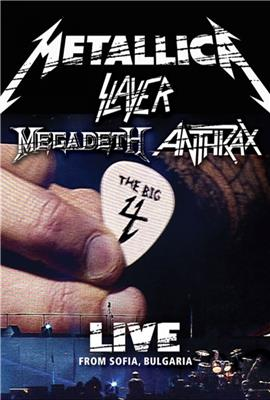 Metallica/Slayer/Megadeth/Anthrax: The Big 4: Live from Sofia, Bulgaria (2010)